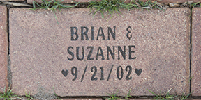 Brian and Suzanne