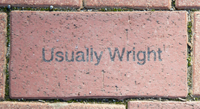 Usually Wright